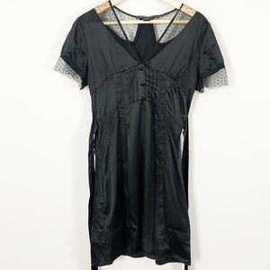 Marc Jacobs Black Silk lace Dress